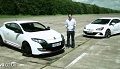 Opel Astra OPC vs Renault Megane RS - wyścig po prostej