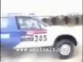 BMW kosmicznie szcześliwy ratunek przed wypadkiem