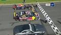 Red Bull F1 vs Mercedes SL63 AMG vs V8 Supercar
