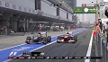 GP Chin 2013 - Hulkenberg vs Massa w pit-stopie