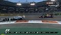 GP Abu Zabi 2013 - Webber wyprzedza Rosberga