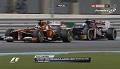 GP Abu Zabi 2013 - powtórka akcji Alonso vs Vergne