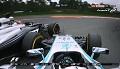 GP Niemiec 2014 - kolizja Hamiltona i Buttona