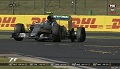 GP Węgier 2015 - wypadek Rosberga i Ricciardo