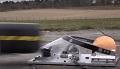 Osłona Red Bulla na bolid F1 - testy statyczne