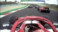 GP Portugalii 2020 - Kimi Raikkonen, start wyścigu P16 -> P6