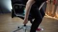 Fotel gamingowy na wzór rajdowego
