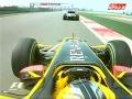 Kubica nieomal zderza się z Chandhokiem - GP Chin 2010