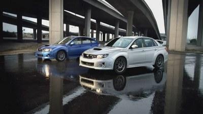 Subaru Impreza WRX - reklama modelu 2011