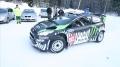 Ken Block - pierwszy zimowy test nowego Forda Fiesty WRC