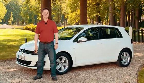 VW Golf TSI BlueMotion w te�cie drogowym