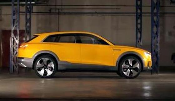 Audi h-tron quattro - ekologiczny SUV w detalach