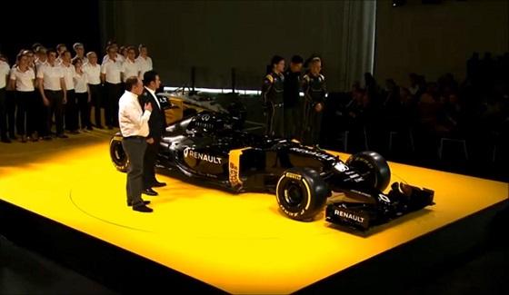 Renault prezentuje zesp� i bolid F1 na sezon 2016