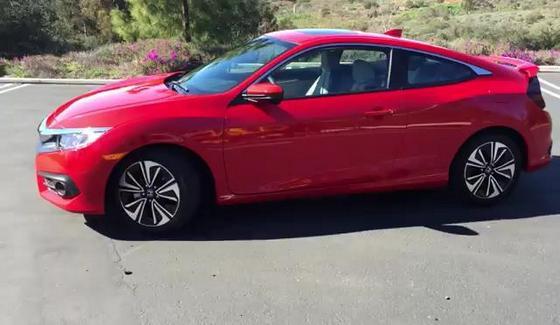 Honda Civic Coupe - rzut okiem na wersj� 2016