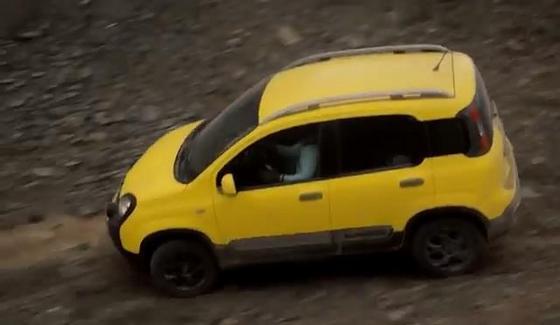 Fiat Panda Cross w terenie