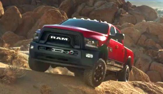 Nowy Ram Power Wagon w akcji