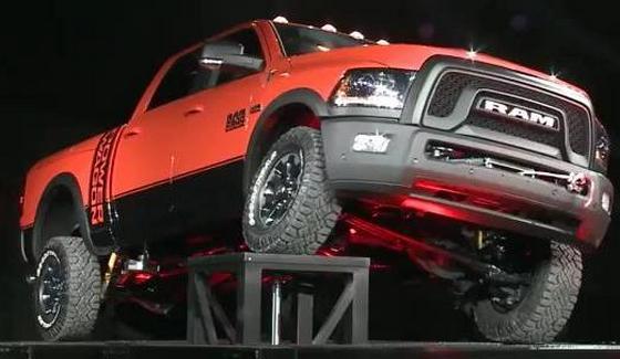 Ram Power Wagon podczas oficjalnej prezentacji