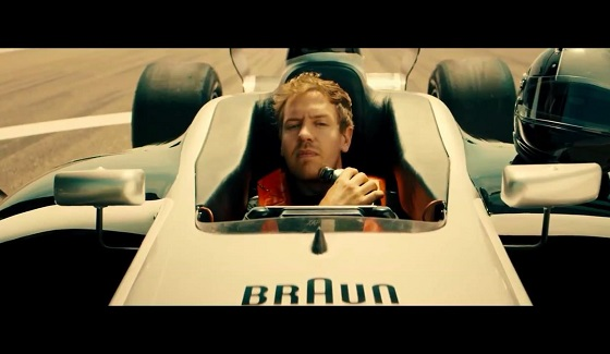 Vettel w reklamie maszynki do golenia