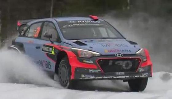 Rajd Szwecji 2016 - 1 etap