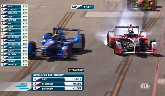 Formu�a E - highlights z Long Beach (sezon 2015/2016)