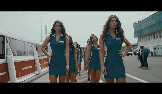 WTCC - grid girls z Hungaroring 2016
