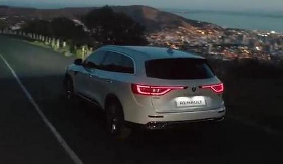 Renault Koleos w oficjalnym klipie