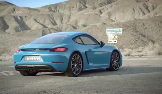 Porsche 718 Cayman S w oficjalnym klipie