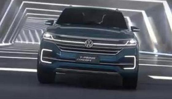 VW T-Prime Concept GTE - prezentacja SUVa