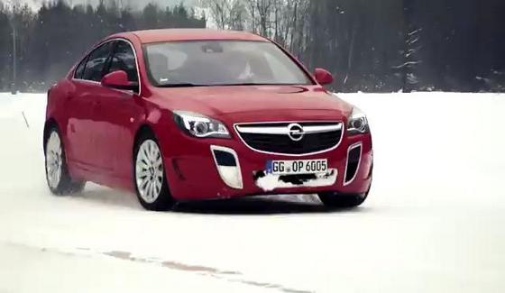 Opel Insignia OPC spotyka klasyczne rajd�wki na �niegu