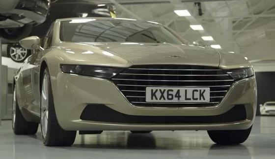 Aston Martin Lagonda Taraf okiem magazynu Motortrend