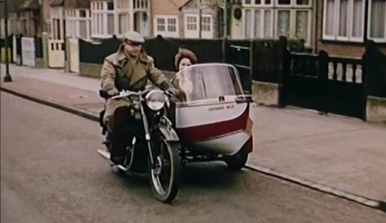 Motocyklowa amfibia z przesz�o�ci