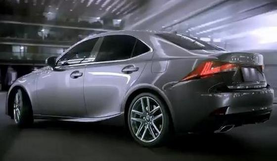 Lexus IS - od�wie�ony model w oficjalnym klipie