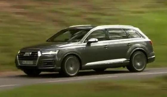 Audi SQ7 TDI - przeja�d�ka SUVem