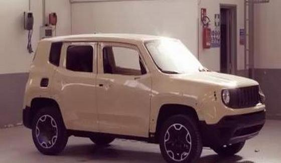 Jeep Renegade - zapowied� wersji Uncharted Edition
