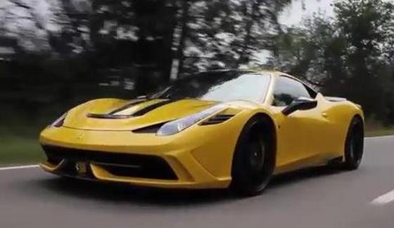 Ferrari 458 Speciale przygotowane przez Novitec