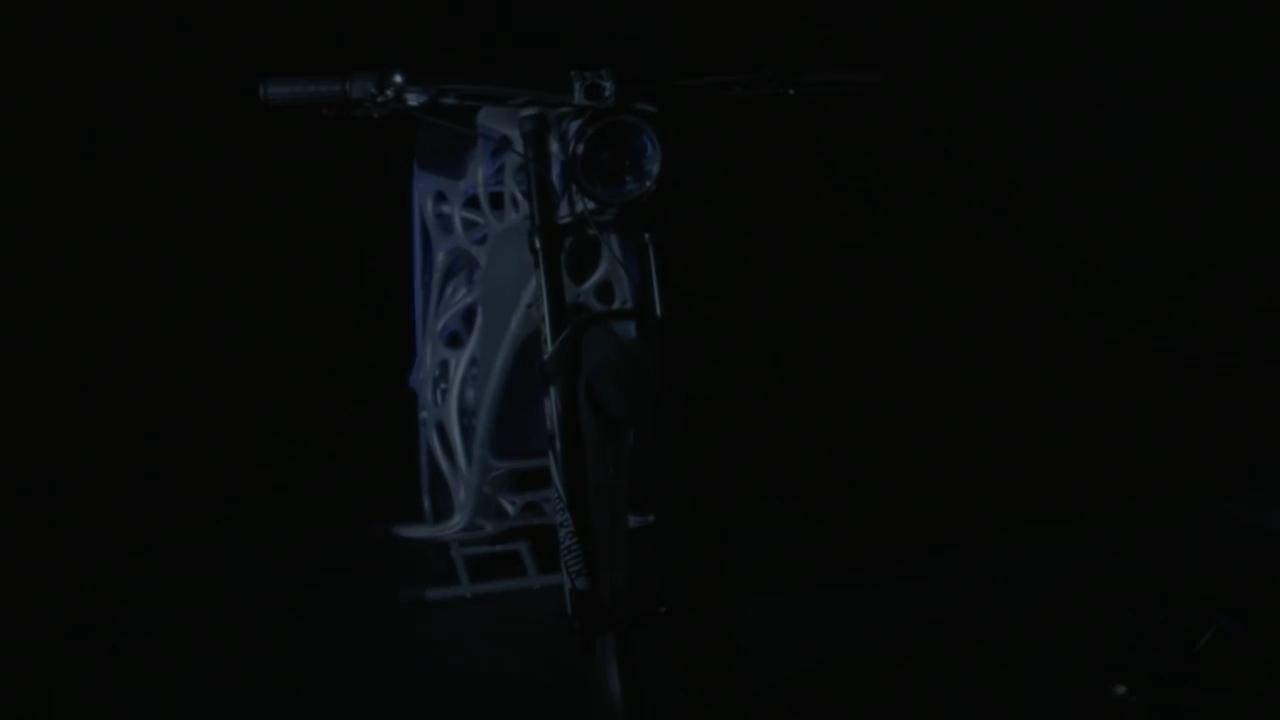 Light Rider - motocykl z drukarki 3D