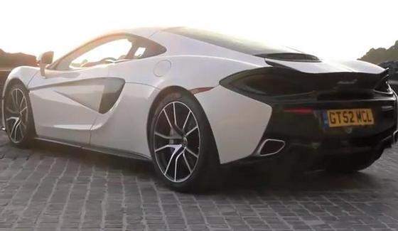 McLaren 570GT w te�cie magazynu Autocar
