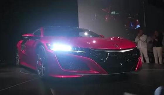 Pierwsza Acura NSX wyjecha�a z fabryki