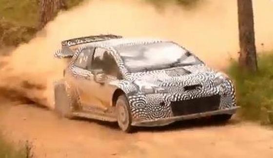 Juho Hanninen sprawdza� Yarisa WRC 2017