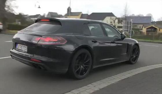 Porsche Panamera Shooting Brake na testach