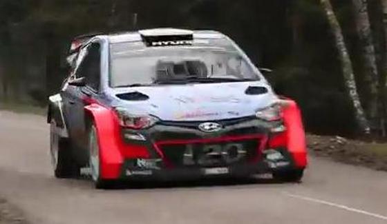 Francois Delecour za kierownic� i20 WRC