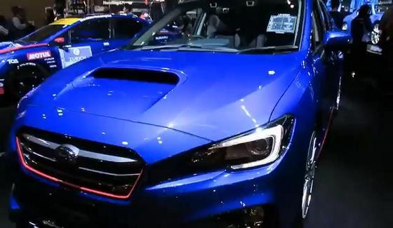 Subaru Levorg STI jako koncept przedprodukcyjny