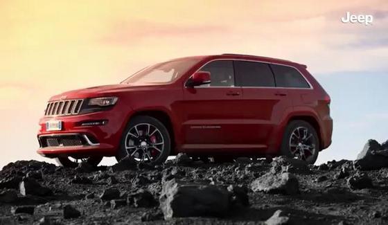 Jeep Grand Cherokee SRT w oficjalnym klipie