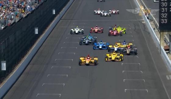 Indy 500 - skr�t 100. edycji wy�cigu