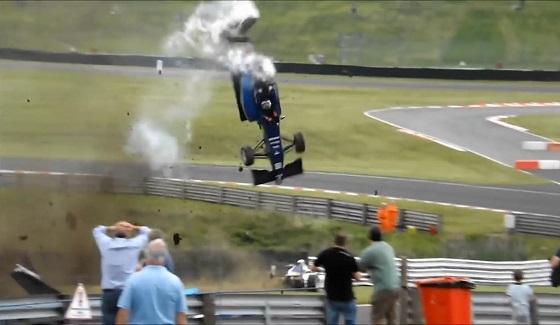 Dramatyczny wypadek w Brytyjskiej F3
