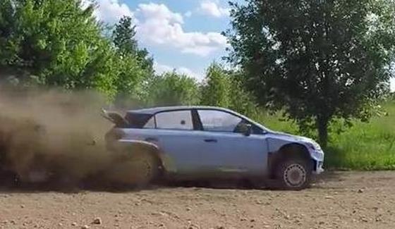 Testy Haydena Paddona przed Rajdem Polski 2016