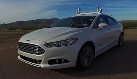 Ford Fusion - testy autonomicznej wersji