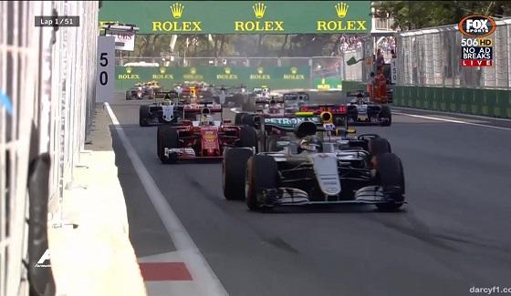 GP Europy 2016 - start wy�cigu