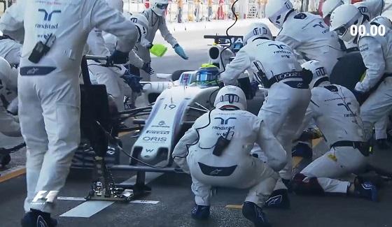 Pit-stop F1 w 1,92 sekundy