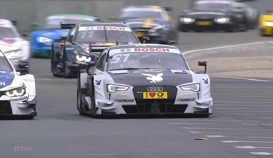 DTM - highlights z niedzielnego wy�cigu na Norisringu (4. runda sezonu 2016)